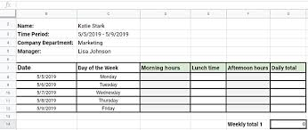Excel Employee Time Sheet Best Ways To Track Employee Hours Clockify Blog