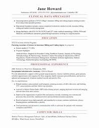 Inspirational Medical Coding Resume Examples Letter Sample Collection