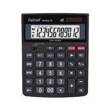 Rebell Panther 12 Bx Desktop Calculator Re Panther 12 Bx Office Monster