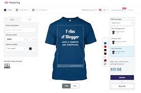Teespring Design Software Teespring Review I Tried Making Money Designing Custom T Shirts
