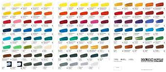 Image Result For Golden Heavy Body Color Chart In 2019