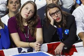 Image result for hillary supporters election night