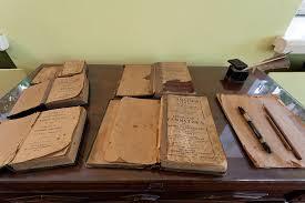 Музей квартира Ф М Достоевского Книги по которым учились дети в семье Достоевских