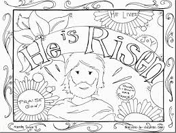 Preschool Religious Easter Coloring Pages Printable Zabelyesayancom