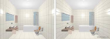 vertical tile installation option in single color horizontal tile installation option in single color