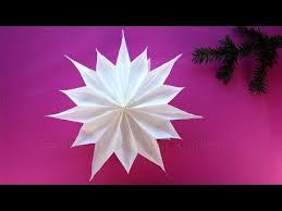 Sterne Basteln Mit Papier Butterbrottüten Weihnachtssterne Weihnachtsdeko Diy Weihnachten