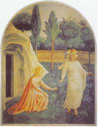 easter essay the secret of the sacred garden from aphrodite s noli me tangere fresco by fra angelico 1395 1455 mary magdalene