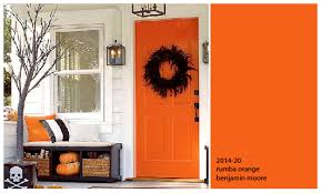 Orange front door Remodel Painters Place Wordpresscom Colours Of The Day Orange Front Door