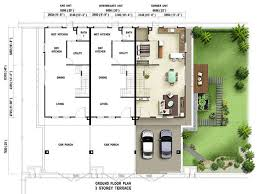 Terraced House Floor Plans Terrace Ground