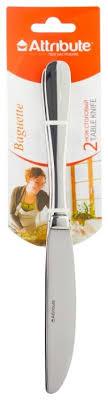 <b>Attribute Набор столовых ножей</b> Baguette 2 предмета — купить по ...