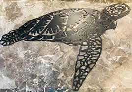 sea turtle metal wall art sea turtle