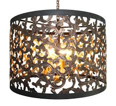 chandelier cut out dark gold cut out acanthus leaf six light chandelier dark gold search results