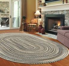 best design ideas attractive oval braided rugs country ihf decor from amusing oval braided rugs