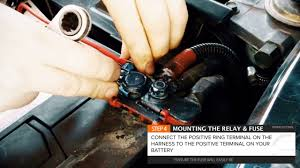 how to wire led light bar or driving lights to high beam stedi quick how to wire led light bar or driving lights to high beam stedi quick fit harness