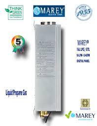 Whole House Water Heater Marey Ga16l Lpg Etl 54 Gpm Propane Water Heater Marey Ga16l Lpg