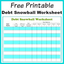 Debt Snowball Calculator Excel Excel Spreadsheet For Credit Card