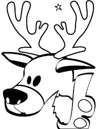 Small Picture Reindeer coloring page Animals Town animals color sheet