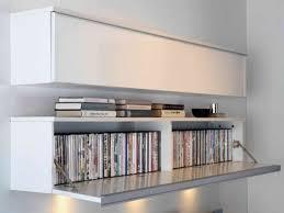 contemporary dvd shelves storage