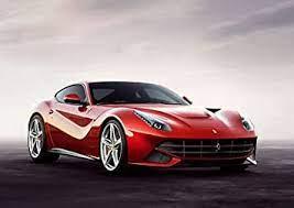 Amazon De Ferrari Poster F12 Berlinetta Rotes Auto Sportwagen A3 Film Movie Poster Druck