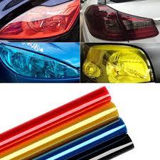 Car Light Film Us 3 07 25 Off 30cm X 120cm Auto Car Light Headlight Taillight Tint Vinyl Film Sticker Sheet Light Black Car Light Color Changing Sticker In Car