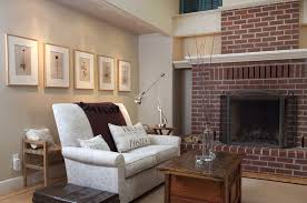 red brick furniture. The Best Tan Paint Colour To Go With Red Toned Brick Fireplace Sherwin Williams Agreeable Gray Furniture