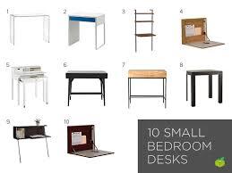 small bedroom desks
