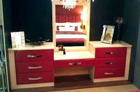 makeup vanity table with drawers set mirror and makeup vanity table with drawers dressing 4