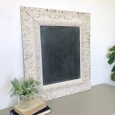 large vintage wooden framed chalkboard ornate