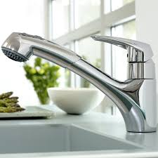 Eurodisc Single-Handle Pull-Out Kitchen Faucet - Touch On Kitchen Sink  Faucets - Amazon.com