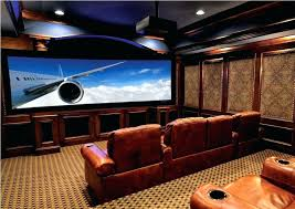 Basement Movie Theater Ideas Traditional Basement Home Theater Ideas