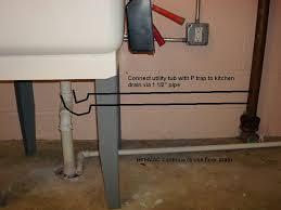 installing shower in basement utl sink drain jpg