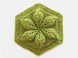Hexagon Crochet Pattern Beauteous Ravelry Embossed Crochet Hexagon Pattern By Bonita Patterns