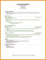 8 Student Resume Samples No Experience Phoenix Officeaz