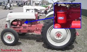 tractordata com ford 8n tractor information photo of 8n serial number