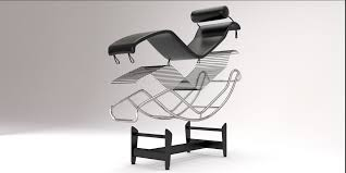 lc4 chaise lounge design by le corbusier model blend 6