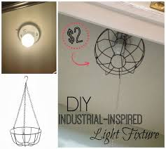 diy industrial lighting. dollarstore diy industrial light fixture diy lighting i