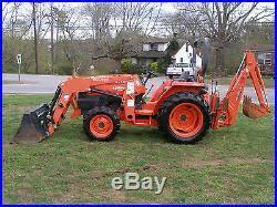 power mowers tractors nice kubota l 2800 extra power 4wd diesel loader backhoe tractor