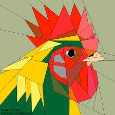 Paper Piecing Quilt Patterns: Animals, Flowers and Trees & rooster : Paper Piecing Quilt Patterns : Animals and Flowers Adamdwight.com
