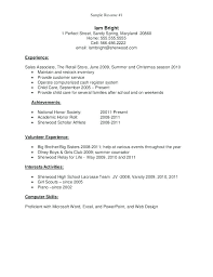 Resume Template High School Student First Job Example Diploma On
