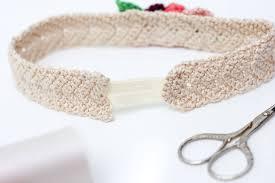 Crochet Flower Pattern For Headband Fascinating Free Crochet Flower Headband Pattern Baby Toddler Adult