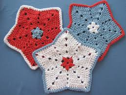 Crochet Star Pattern Free Awesome BellaCrochet Little Star Dish Cloth Or Wash Cloth A Free Crochet