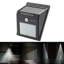 Motion Sensor Stair Lights Epctek Solar Led Wall Lightswireless Security Light Motion Sensor