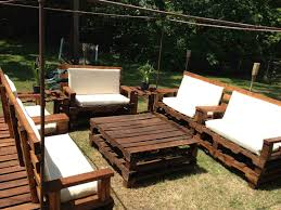 turning pallets into furniture. Ways Patio Furniture Made From Pallets Of Turning Into Unique Pieces Garden 7
