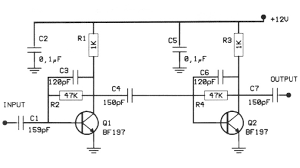 20db vhf amplifier circuit diagrams schematics electronic projects rh diy electronic projects com marine vhf amplifier