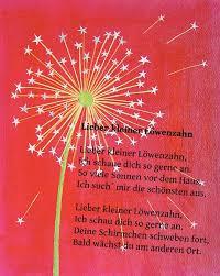 Löwenzahn Gedich Speech Kindergedichte Kinder Gedichte Und