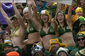 Green bay and bikini girls