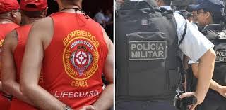 Resultado de imagem para Sancionado projeto que cria o Dia do Policial e Bombeiro Militares