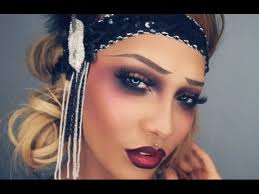 1920s flapper cabaret inspired makeup sonjdradeluxe
