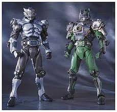 The following examples are copied from the linked sources, and we have not added the sic or the. S I C Vol 27 Kamen Rider Zoluda Kamen Rider Taiga Masked Rider Ryuki Toy Hobby Suruga Ya Com