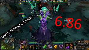 dota 2 6 86 death prophet ownage youtube